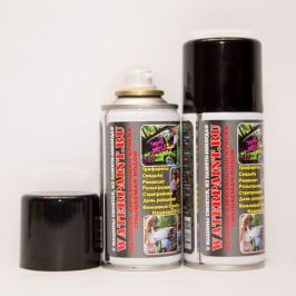 Смываемая меловая краска Waterpaint (черный)
